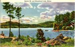 Squaw Mountain and Moosehead Lake Postcard