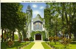 Bates College Chapel Postcard