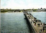 Old Orchard Beach from the End of the Pier Postcard