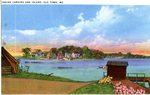 Indian Landing and Island from Old Town, Maine, Postcard