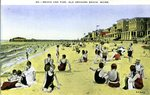 Old Orchard Beach and Pier Postcard