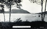 Northeast Harbor View of Mountain Range Postcard