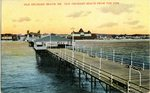 Old Orchard Beach from the Pier Postcard