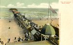 Pier at Old Orchard Beach Postcard