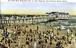 Old Orchard, the Most Beautiful Pier in New England Postcard