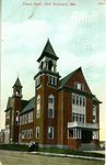 Old Orchard Town Hall Postcard