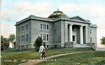 Orono, New University of Maine Library Building Postcard