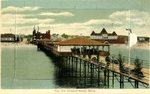 Old Orchard Beach Pier Postcard