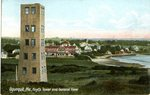Ogunquit Hoyt's Tower Postcard