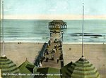 Old Orchard Pier Looking Seaward Postcard