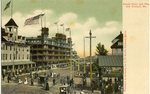 Velvet Hotel and Pier, Old Orchard Postcard