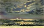 Moonlight on the Atlantic Postcard