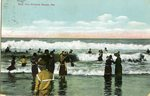 Old Orchard Beach, Maine, Surf Postcard
