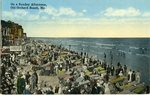 Sunday Afternoon, Old Orchard Beach, Maine Postcard