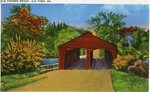 Old Covered Bridge, Old Town, Maine Postcard