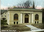 Old Town Public Library Postcard