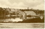 Georgetown Maine Mill Postcard