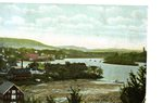 Hallowell, Maine Postcard from Wharf Hill