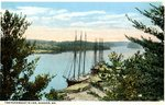 Bangor, Maine, Penobscot River and Ships