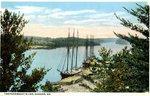 Bangor, Maine, Penobscot River and Ships