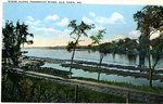 Old Town Postcard of the Penobscot River