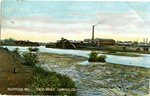 Biddeford, Maine Postcard of the Saco River Lumber Co.