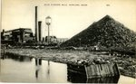 Howland, Maine Postcard of Atlas Plywood Mills
