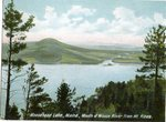 Moosehead Lake, Maine, Mouth of Moose River from Mount Kineo