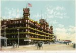 Old Orchard Hotel Velvet Postcard