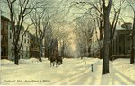 Portland Maine in Winter Postcard