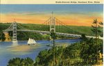 Waldo - Hancock Bridge Postcard