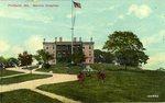 Portland, Maine Marine Hospital Postcard
