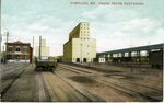 Portland Grand Trunk Elevators Postcard