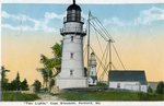 Cape Elizabeth, Two Lights Postcard