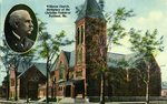 Williston Church, Birthplace of the Christian Endeavor            Postcard