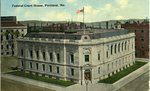 Portland, Maine, Federal Court House Postcard