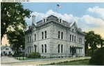 Rockland, Maine, Post Office Postcard
