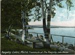 Rangeley Lake Promenade Postcard