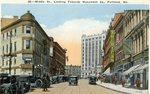 Portland, Maine, Middle Street Postcard