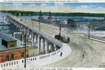 Portland - South Portland Bridge          Postcard