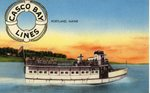 Casco Bay Lines          Postcard