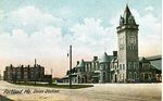 Portland, Maine Union Station Postcard