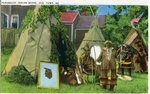 Penobscot Indian Scene, Old Town, Maine           Postcard