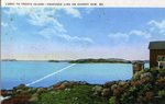 Lubec to Treats Island             Postcard