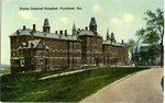 Portland Maine General Hospital Postcard