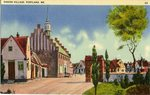 Danish Village Postcard