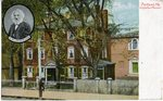 Longfellow's Mansion Postcard