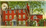 Longfellow's Home in Portland, Maine Postcard