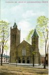 Portland, Maine, State Street Congregational Church Postcard