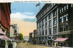 Portland, Maine, Congress Street Above Monument Square Postcard